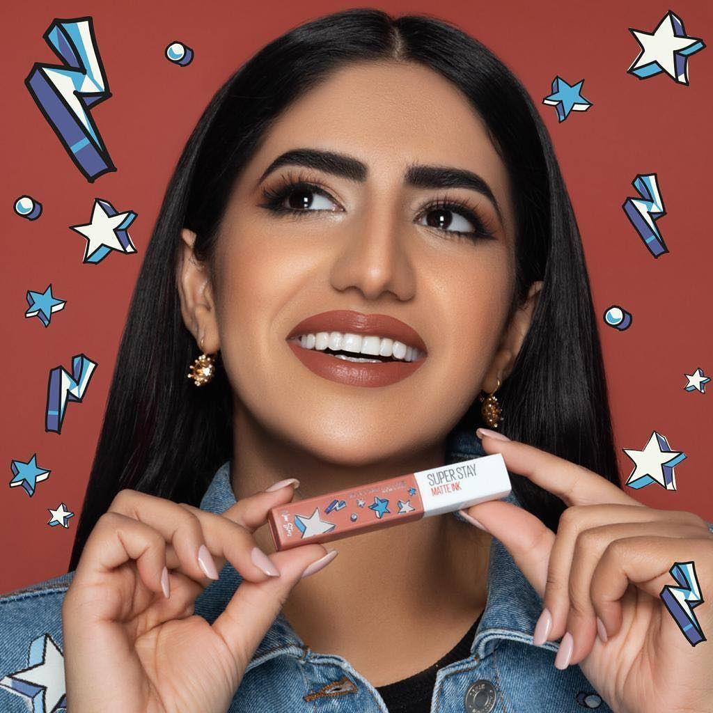 نور ستارز Noor Stars On Instagram Noorstars X Maybelline اخيراااا صار فيي اعلن عن لون حمرتي وشكل العلبة والاسم Youtube Fashion Free Makeup Fashion