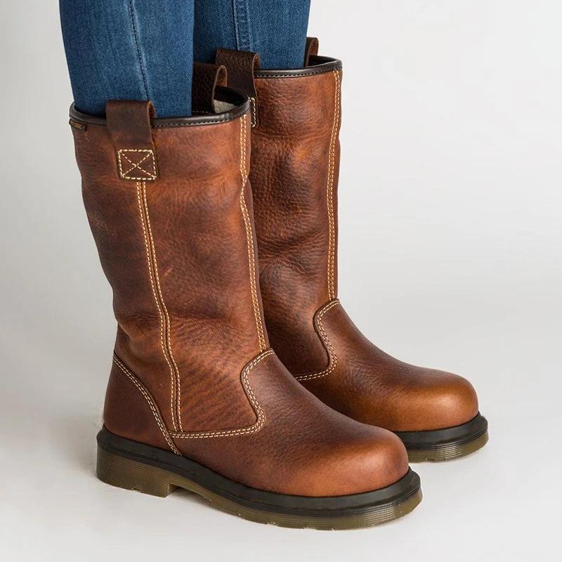 Kattystory Women's Shoes Chunky Heel