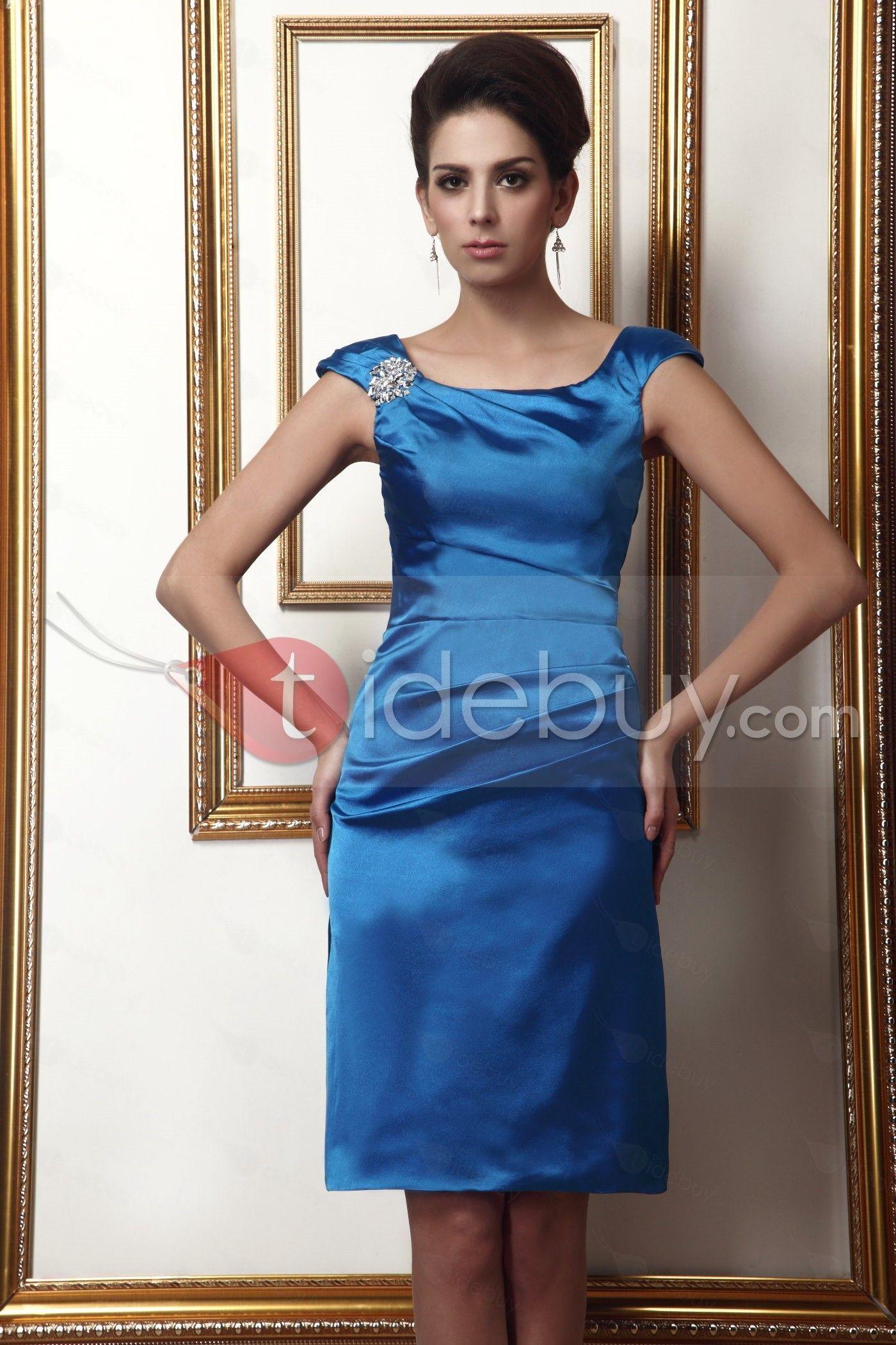 Elegante Taline\'s-Vestido para Madre de la Novia Vaina/Columna con ...