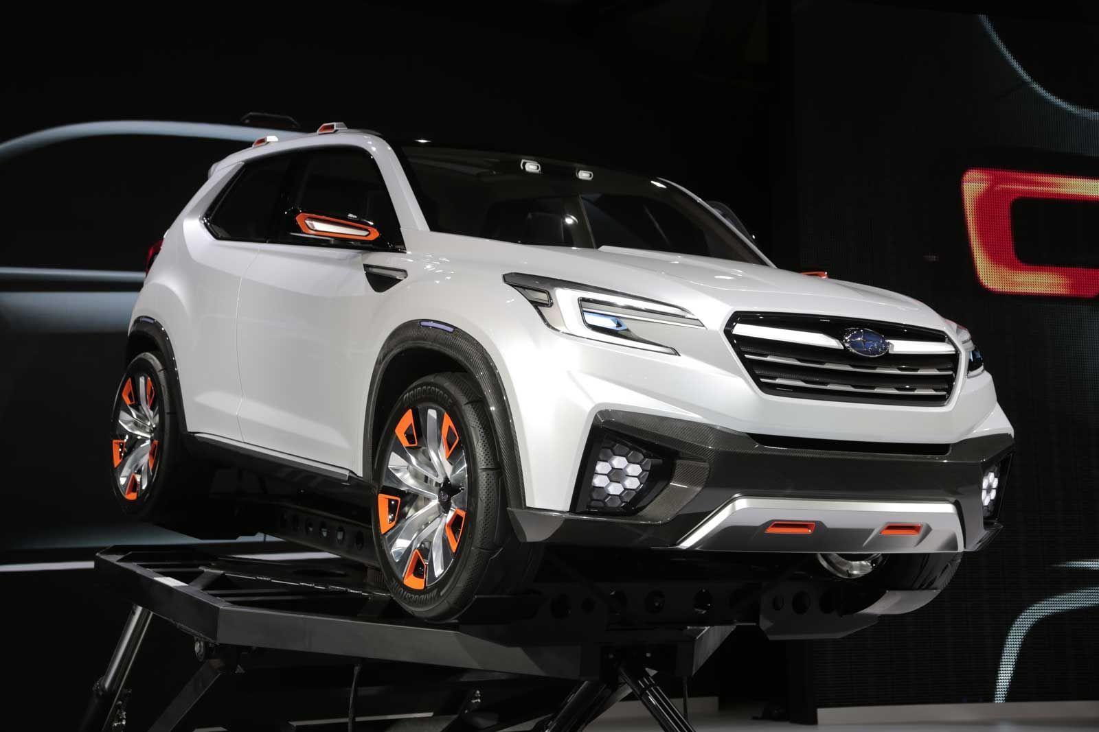 2020 Subaru Forester Sport Redesign and Concept Subaru