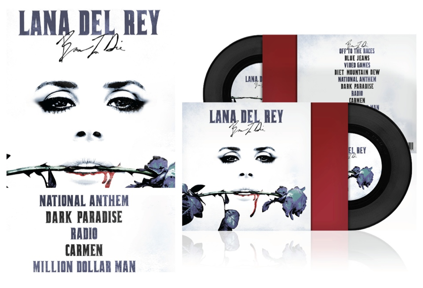 Dylan Cook Full Sail Digital Arts And Design 2012 Graduate Created This Vinyl Repackaging For Lana Del Ray S Album Born To Die As Pa Class Projects Student Work Full Sail