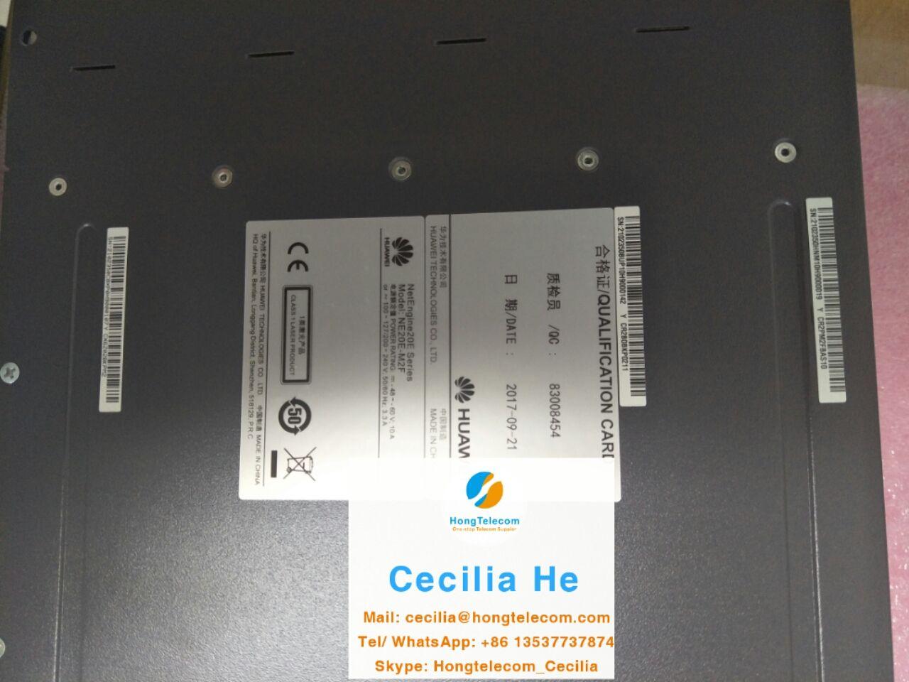 Huawei Router# 02350HNM Huawei NE20E-M2F Basic Configuration