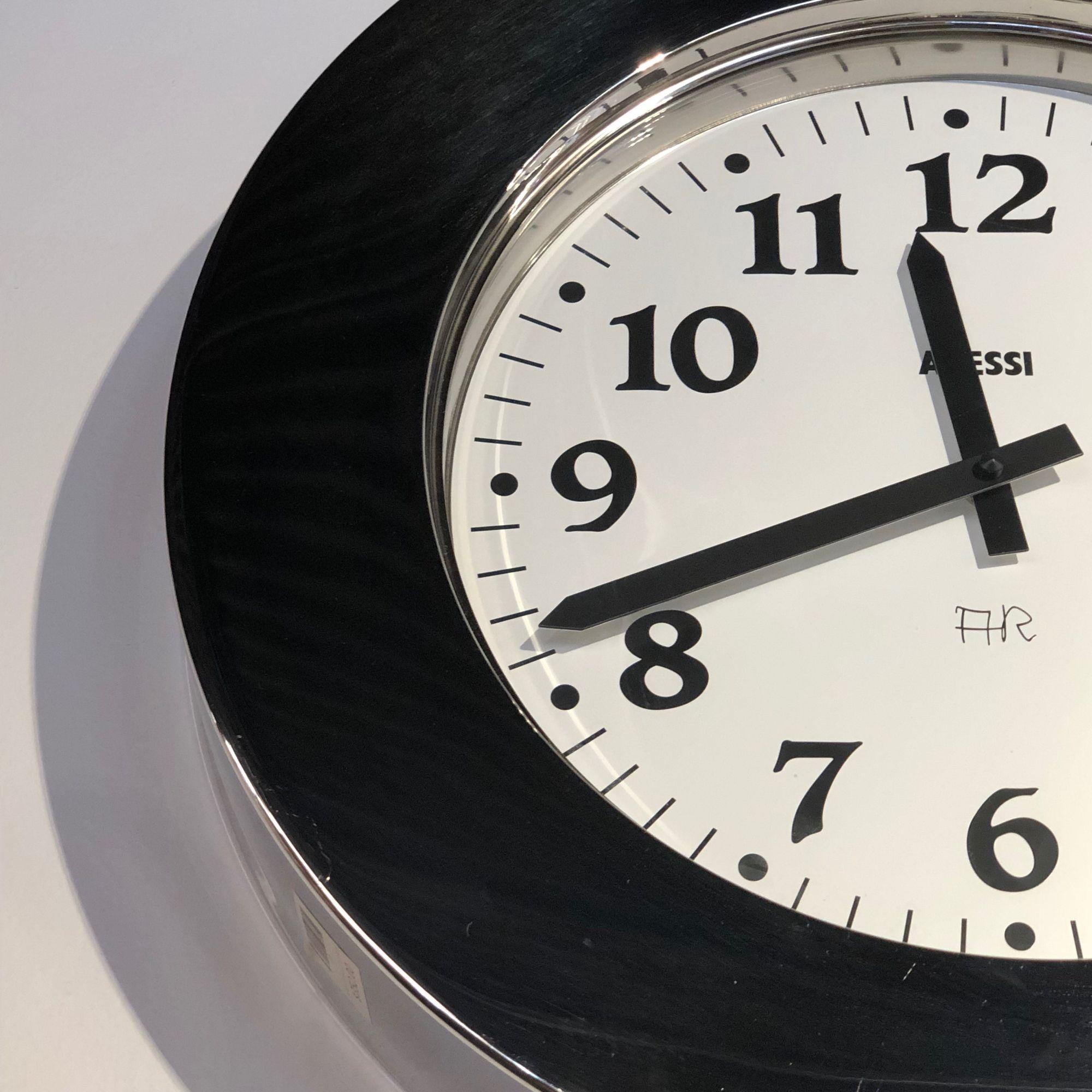 Alessi Momento Wall Clock 11 Wall Clock Clock Alessi