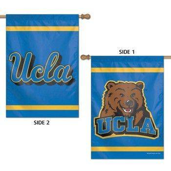 UCLA Bruins 2 Sided House Flag Vertical Banner