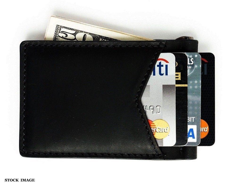 Andar wallet black baron slim bifold rfid blocking money