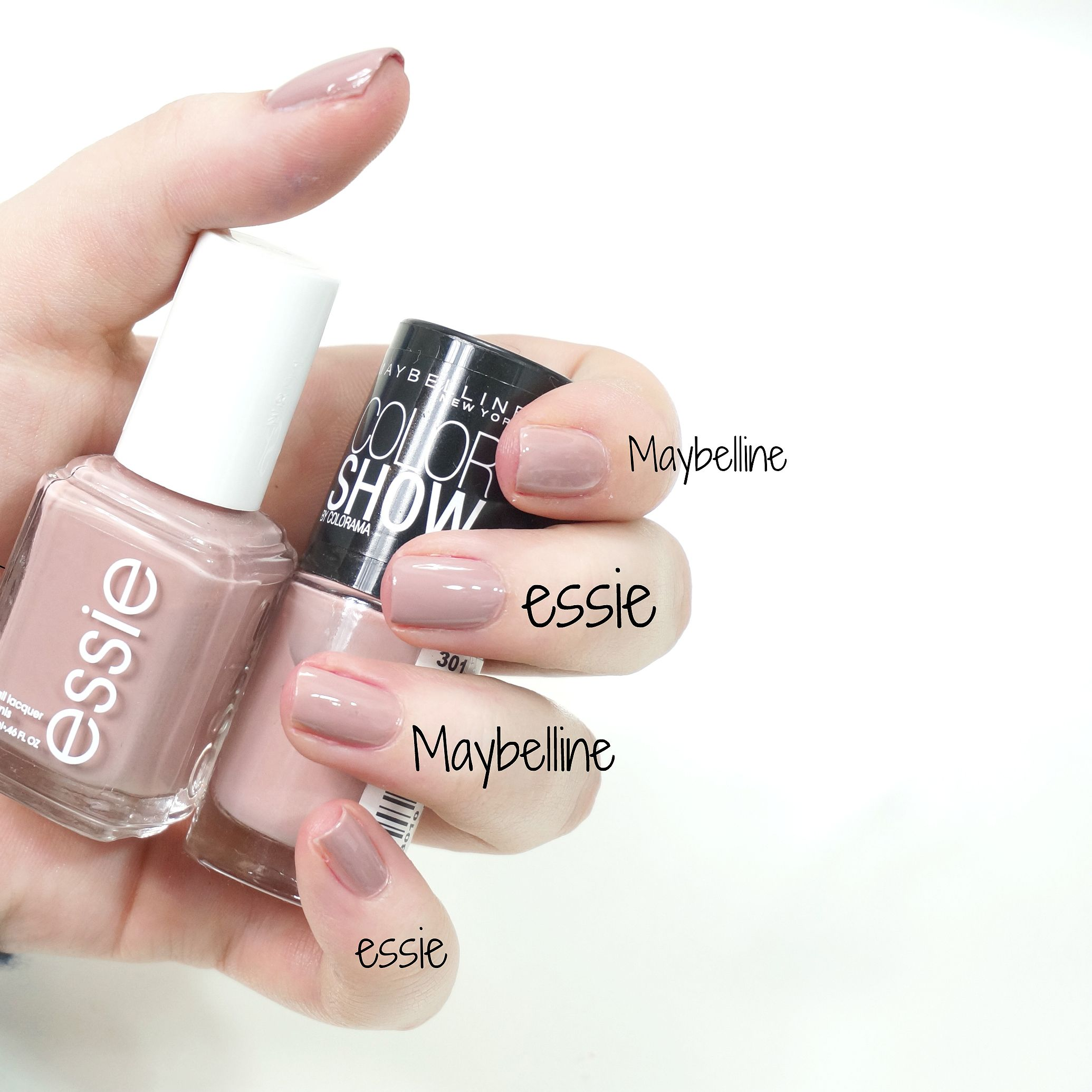 essie ladylike Dupe: Maybelline '301 love this sweater\':http://amzn ...