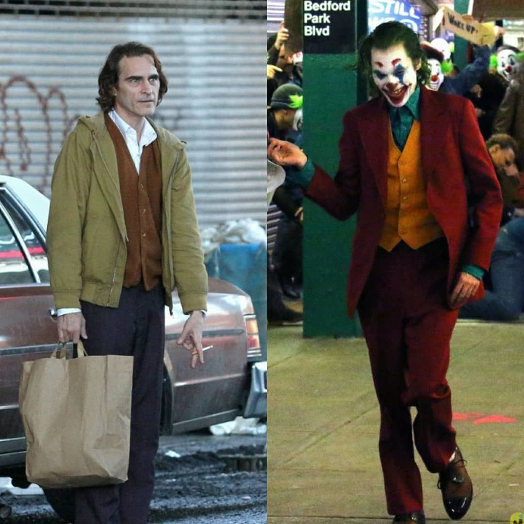 Joaquin Phoenix as Arthur Fleck/The Joker in Todd Phillips