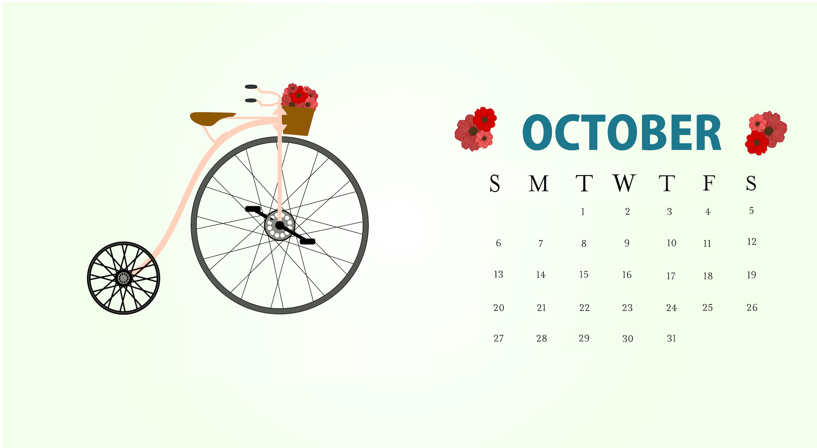 10 October 2020 Calendar Plant Floral Cute Desktop Wallpaper In 2020 Desktop Wallpaper Calendar Calendar Wallpaper Desktop Calendar