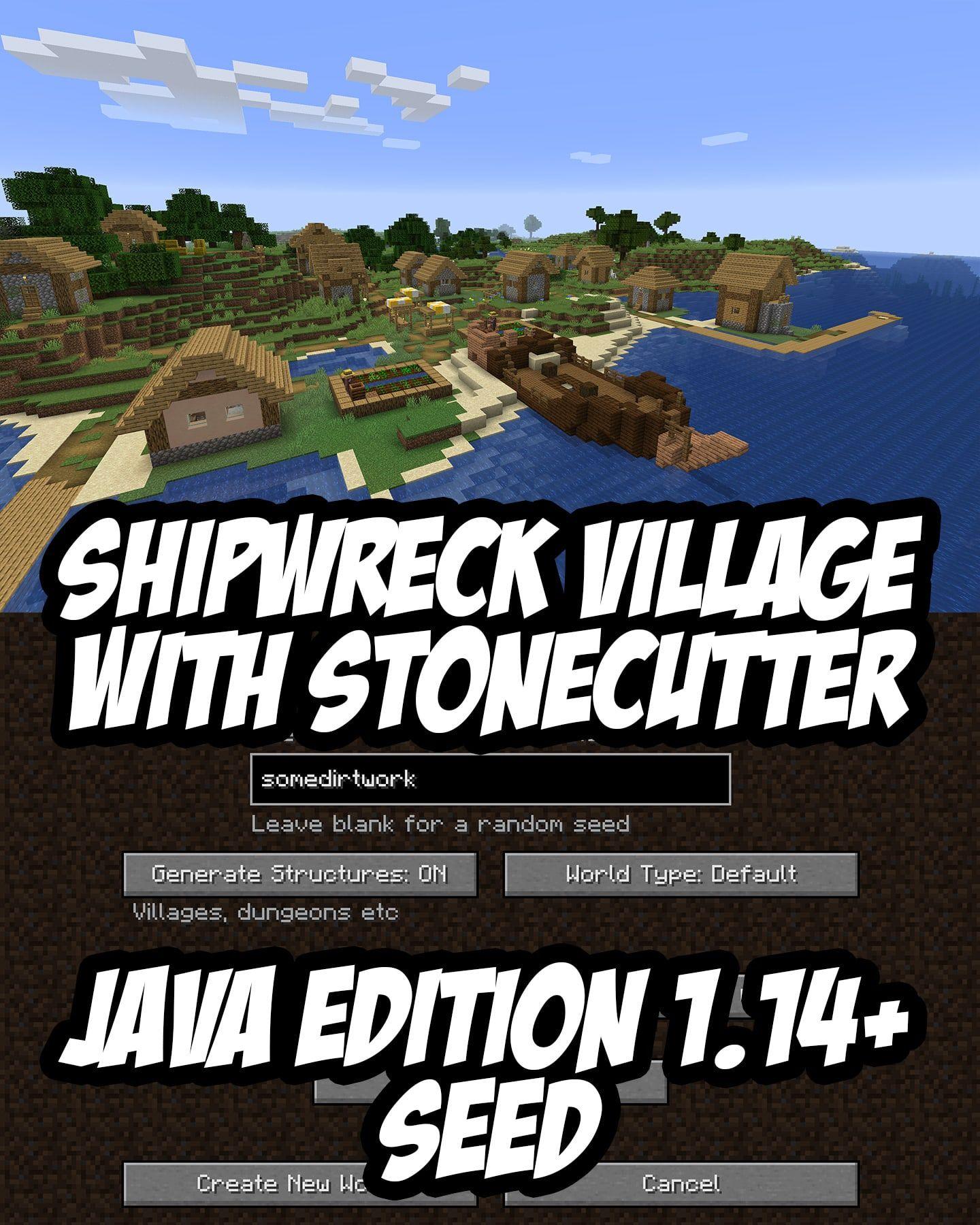 Minecraft Seed Somedirtwork 1782416884 Minecraft Seed Amazing Minecraft Minecraft Construction