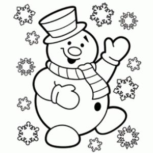 Yeni Yil Kardanadam Boyama Sayfalari Kardan Adam 3d Kartlari