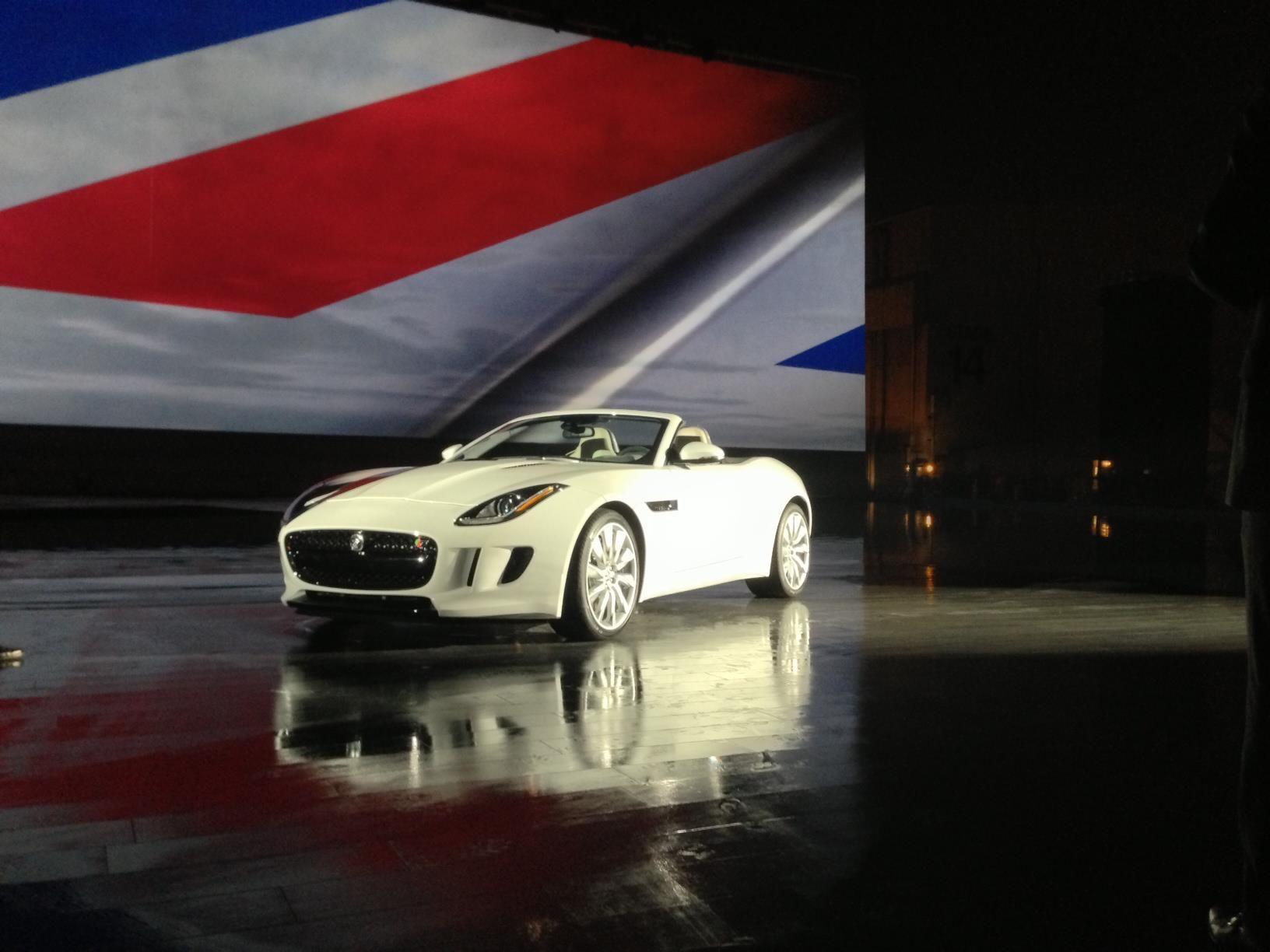 Jaguar F-Type at the LA Auto Show #jaguar #ftype #luxury #sports #convertible #auto #la #bennettklr #allentown #pennsylvania
