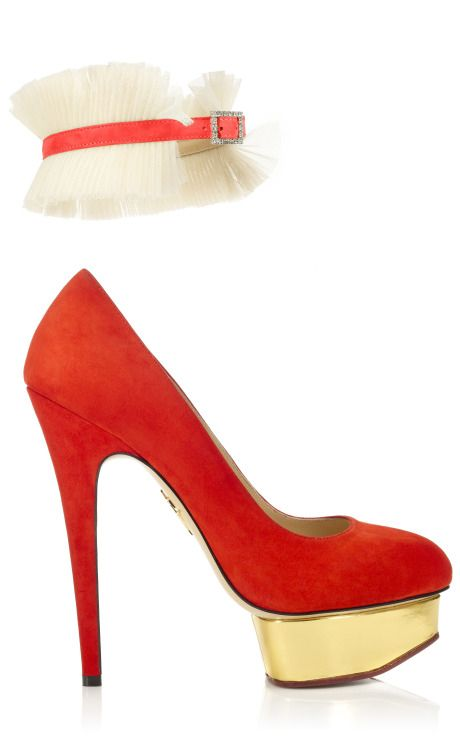 CHARLOTTE OLYMPIA Dolly Pump