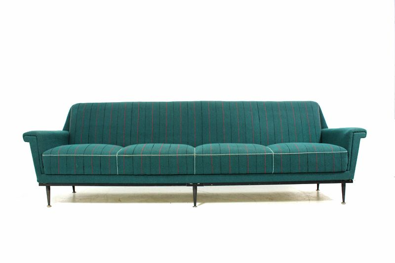 Sofa 60er Stil 50s And 60s Furniture | 60er Sofa Im Zanuso / Kagan