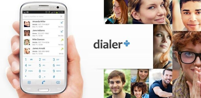 Dialer+ is a smart, beautiful and free dialer app Dialer+ is your