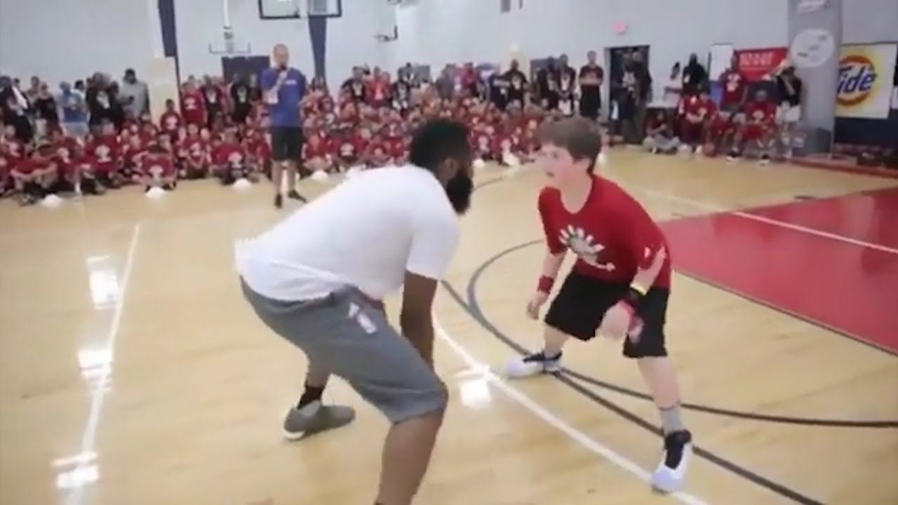 James Harden Video Shows Houston Rockets Player Dunking
