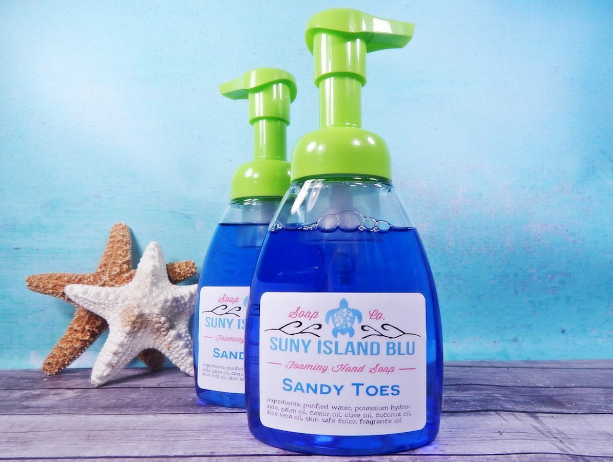 Sandy Toes Foaming Hand Soap