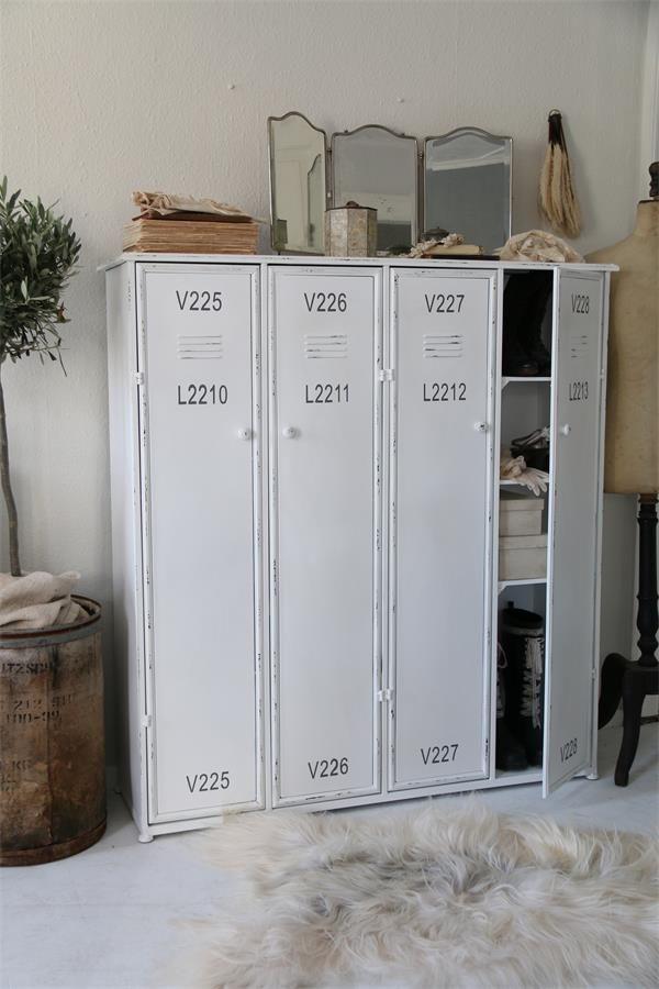 Witte Industriele Kast.Industriele Kast Metalen Witte Lockerkast 120x128 Cm In 2019