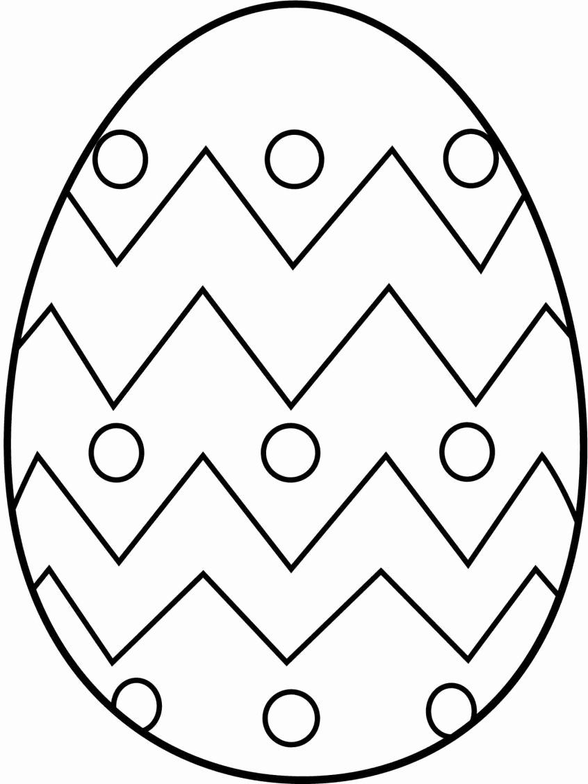 Dltk Easter Egg Coloring Page Display