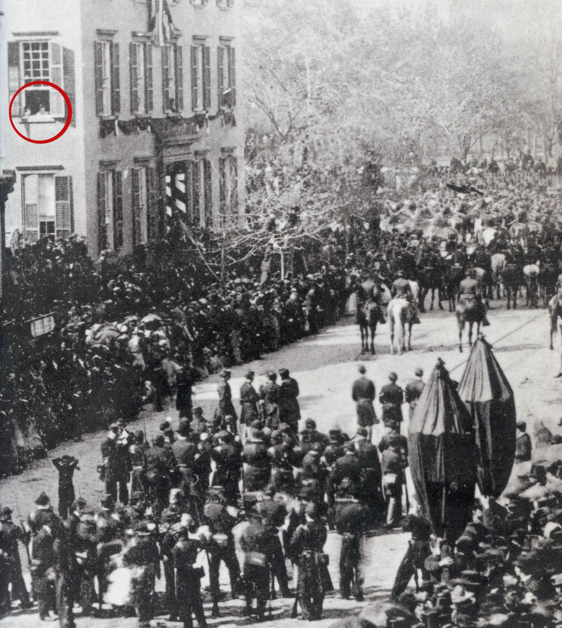 Abraham Lincoln S Funeral Procession In New York City