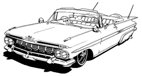 lowrider coloring pages Lowrider | FCAT Week | Pinterest | Coloring pages, Cars coloring  lowrider coloring pages