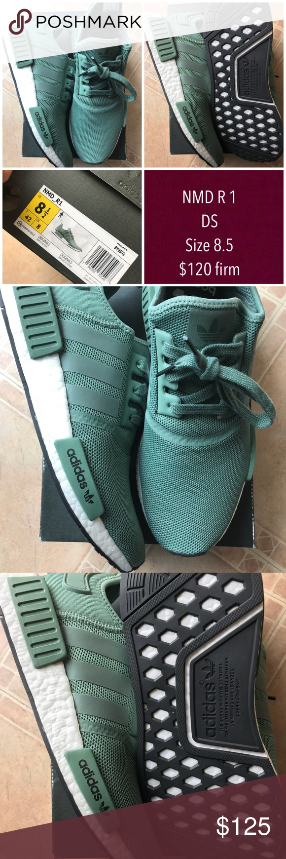 56cb9f2b3569e NMD R1 ( NWT ) Army green olive NMD R1. Dead Stock ( never worn ) NWT size  8.5 adidas Shoes Athletic Shoes