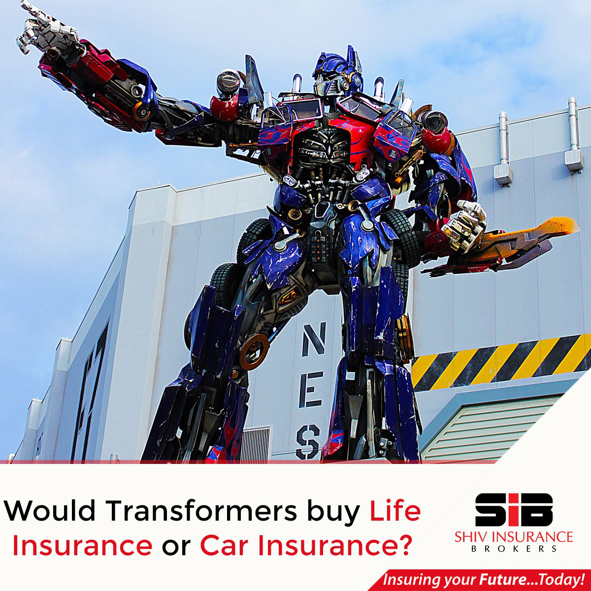 What do you think? Comment joke insurance