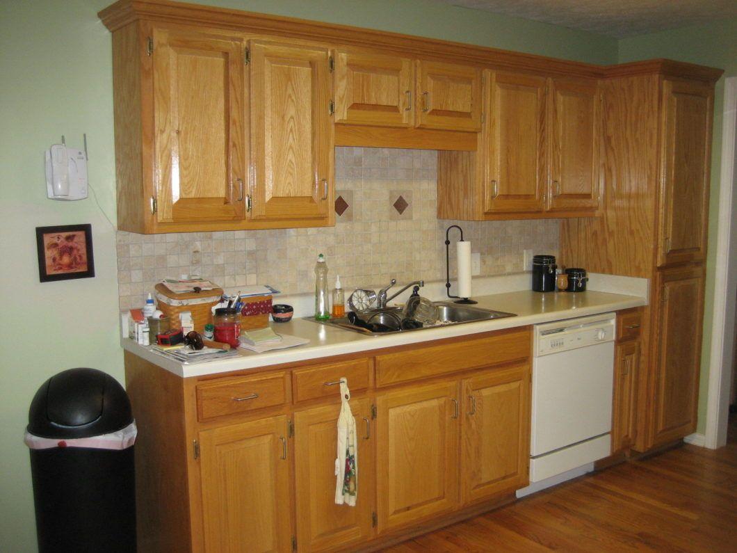 Image Yellow Kitchen Walls With Oak Cabinets | Modern ...