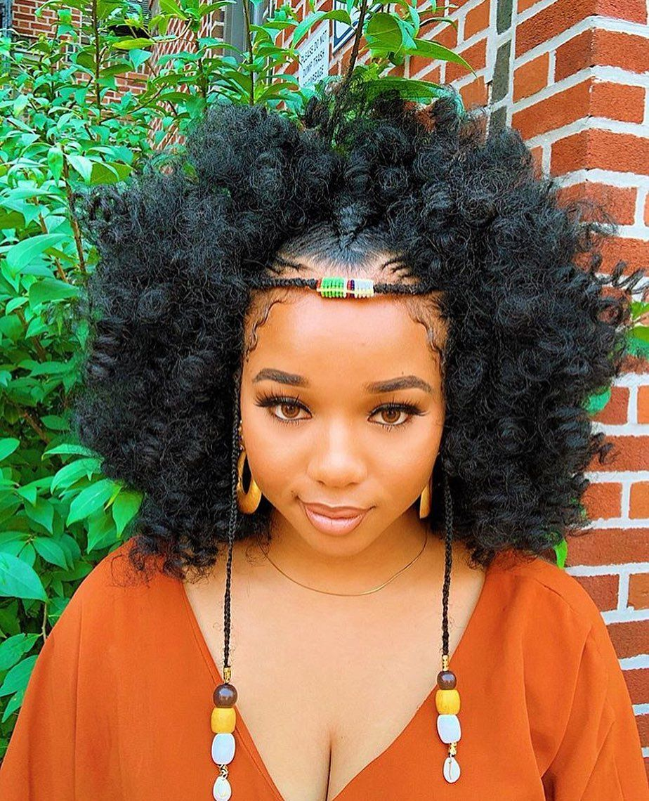 Natural Hairstyles For Black Women Natural Hair Styles Hair Styles Braided Hairstyles