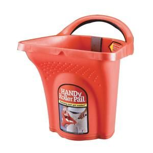 Handy Paint Pail 1 2 Gal Roller Pail 3555 12 The Home Depot Paint Pails Paint Roller Painting Supplies