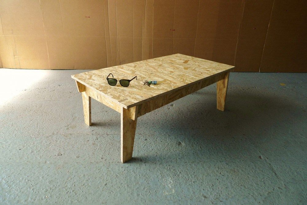 table basse osb osb pinterest meubles boiseries et bois. Black Bedroom Furniture Sets. Home Design Ideas