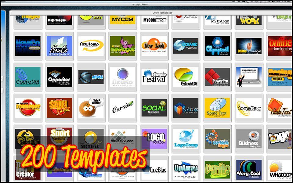 Design Software from Diy online, Some text, Logo maker