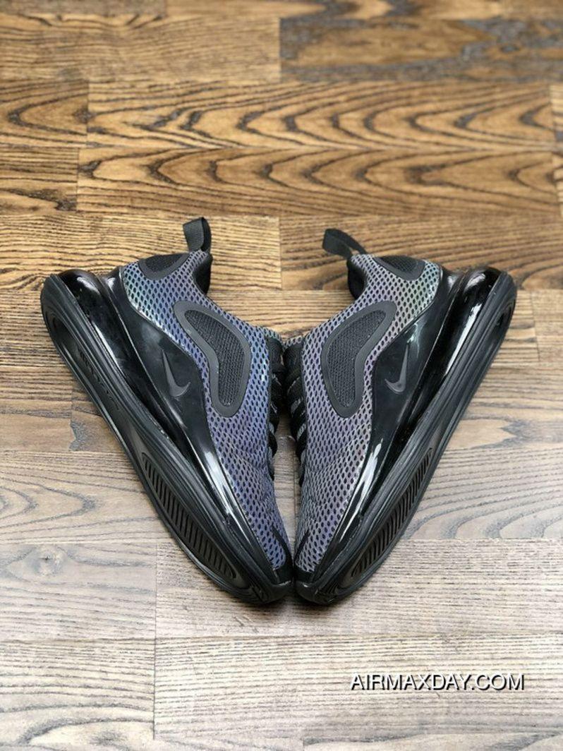 bdb29748aa565 Nike Air Max 720 2019 Gradient Color Black Original Mens Running Shoes  Online