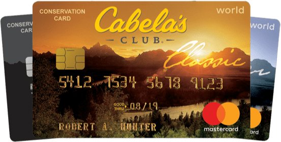 Cabela S Credit Card Is Now Issued By Capital One Bank The Cabela S Credit Card Is More Rewarding Credit Card Application Credit Card Online Credit Card Apply