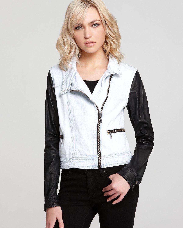 rag & bone/JEAN Leather Jacket The Moto Jacket in