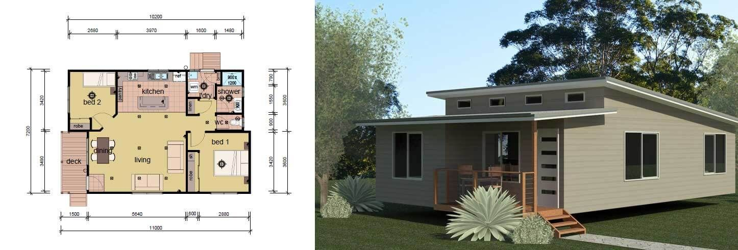 2 Bedroom Modular Home The Passmore Modular Homes Home Design Plans Modular Home Prices