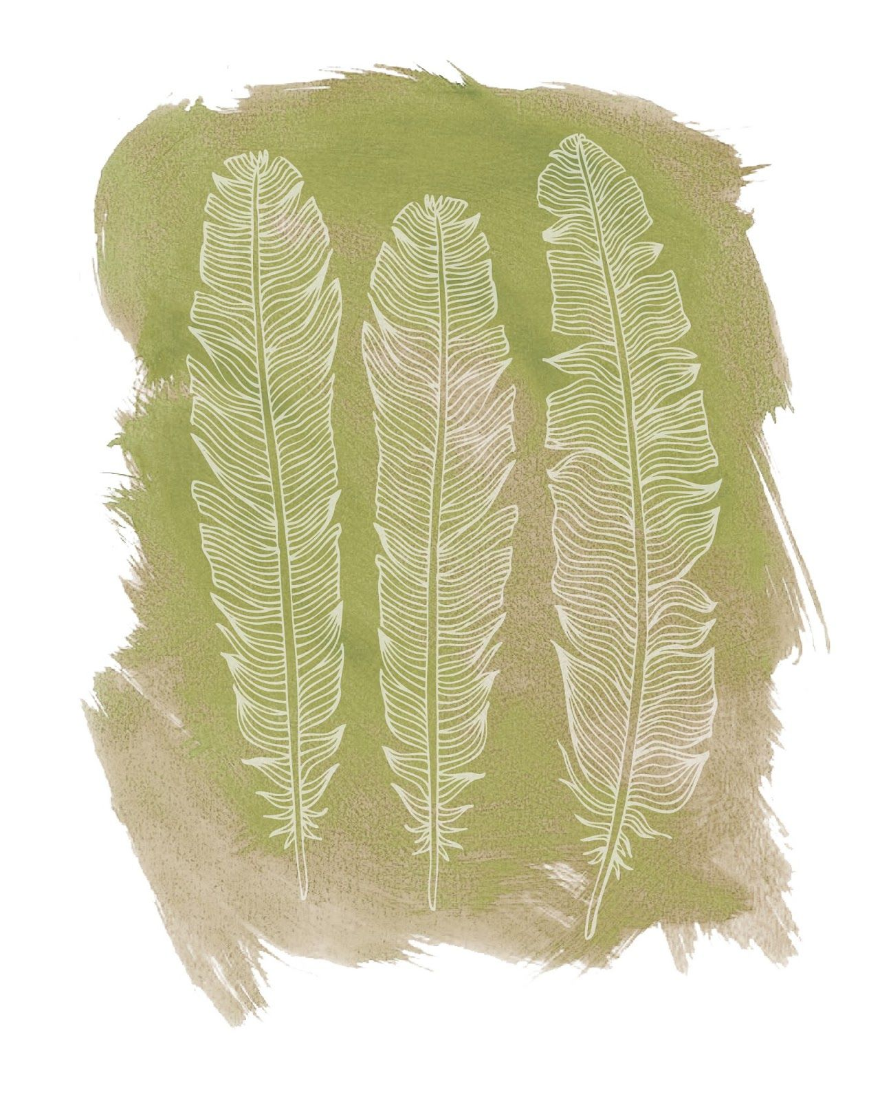 Happy Monday everyone! Today I am giving you 5 free feather ...