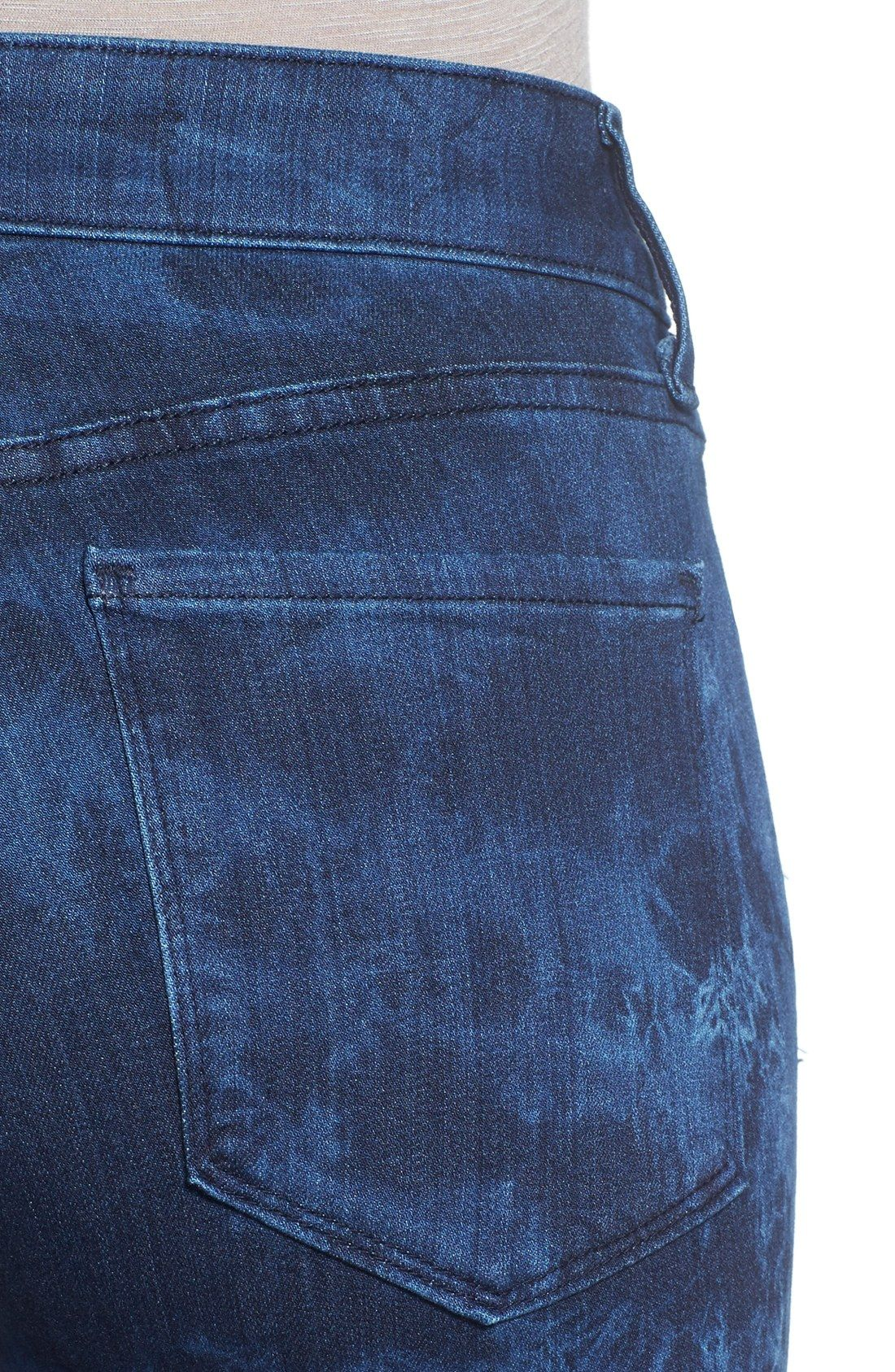 Free shipping and returns on NYDJ 'Alina' Tie Dye Stretch Skinny Jeans at Nordstrom.com. Stretchy curve-hugging jeans take on a sense of intrigue in a richly saturated, indigo tie-dye print. As always, they are designed with exclusive lift-tuck technology that helps to shape and smooth from within.
