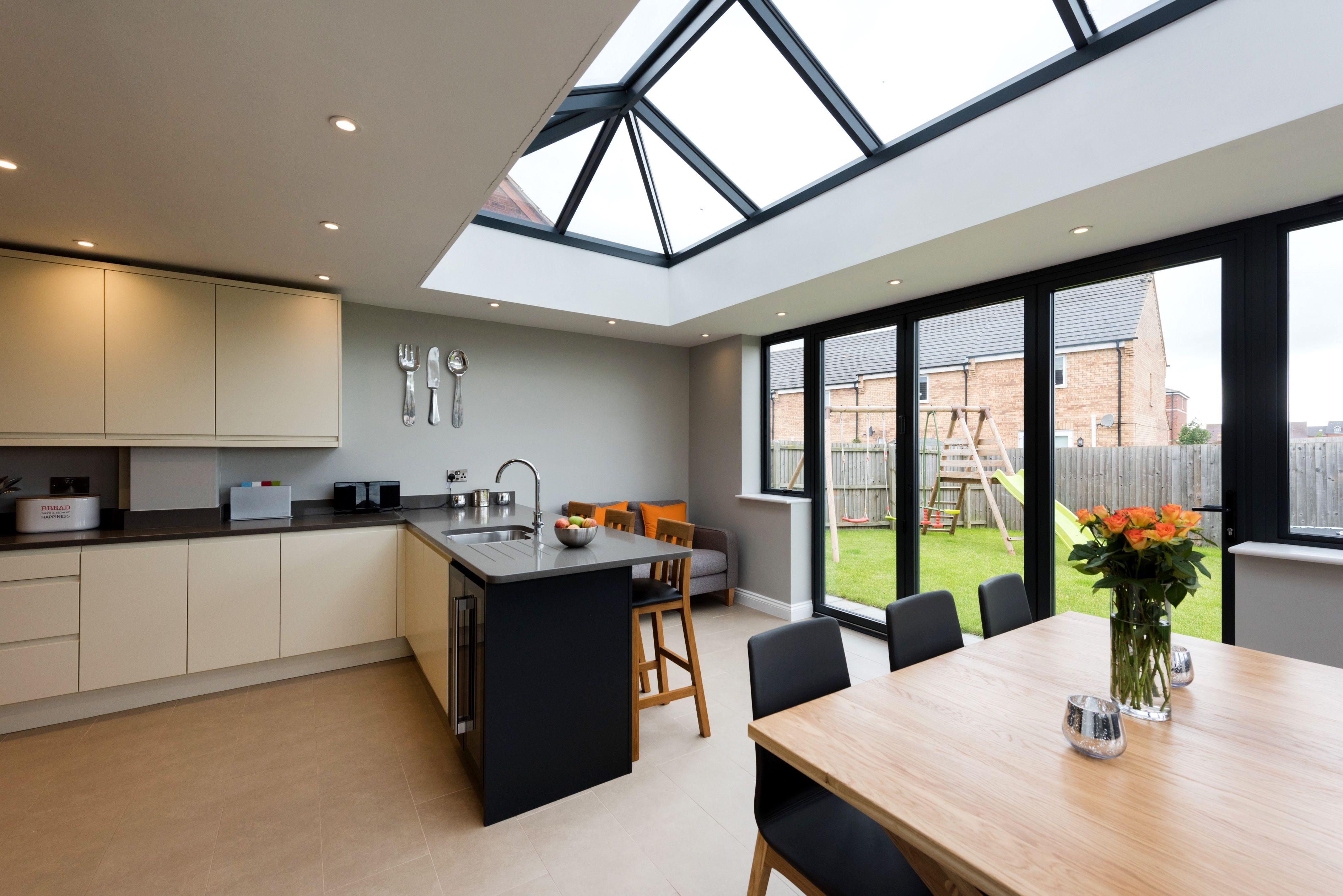 Image Result For Kitchen Extension Open Plan Kitchen Living Room Interior Design Kitchen Open Plan Kitchen Dining Living