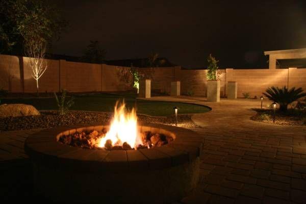 Outdoor Fireplace Ideas Outdoor Patio Lights Backyard Layout