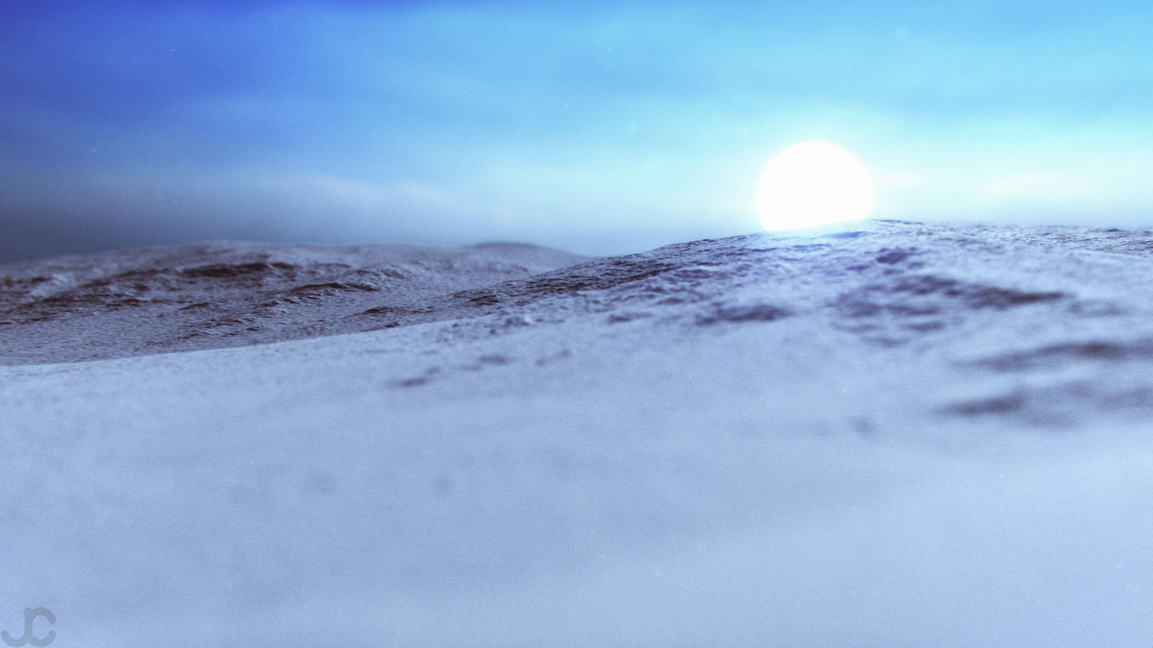 I Made An Astral Dawn Wallpaper In 3d Using Real Mars Terrain Data 3840x2160OC Ifttt 2nLASkH