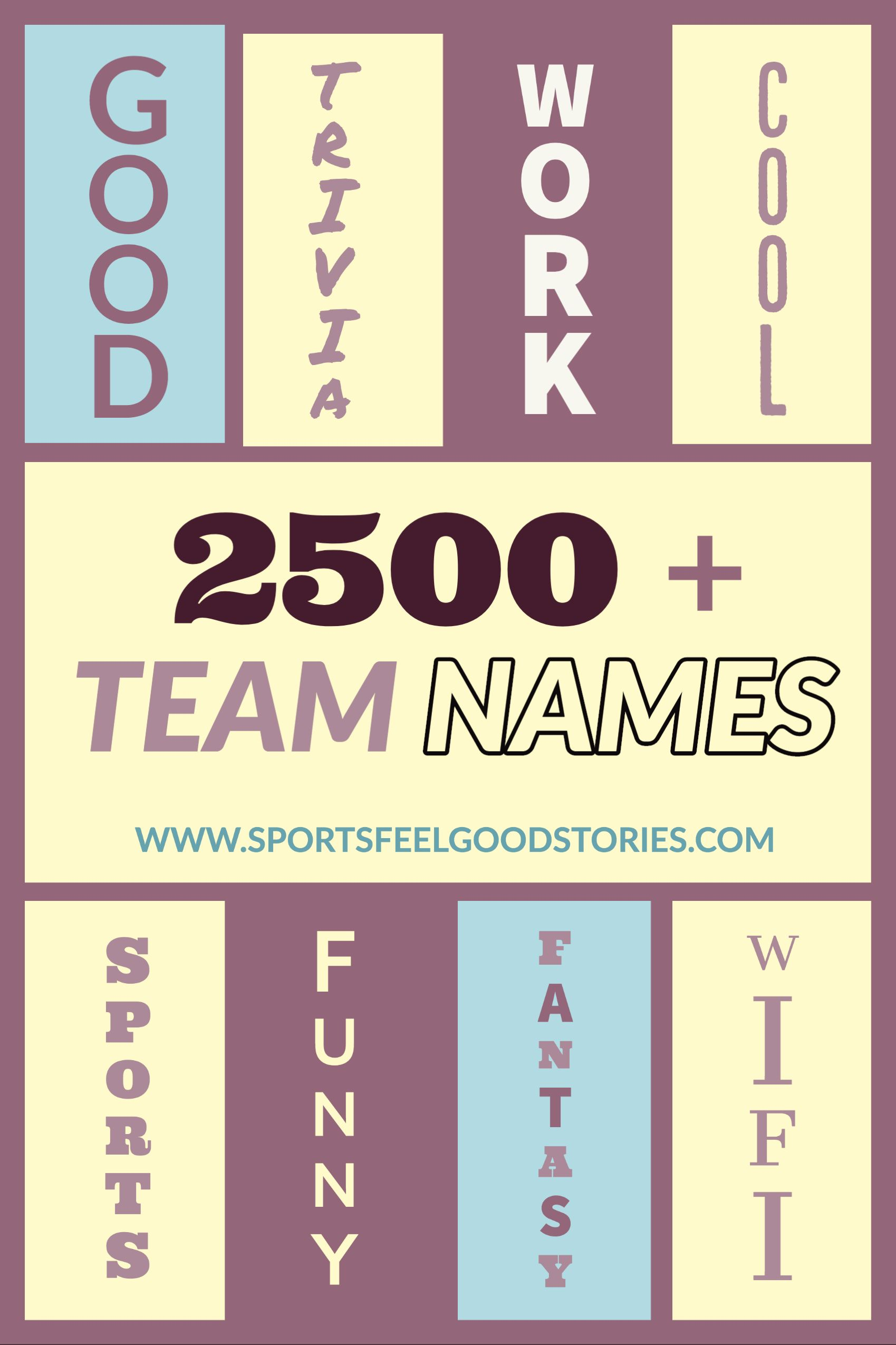 Super Cool Team Names For Sports Business And Other Groups In 2020 Team Names Team Names For Competition Names