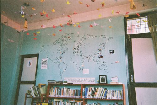 Draw a map of the world on your wall and mark every single place to draw a map of the world on your wall and mark every single place to gumiabroncs Gallery