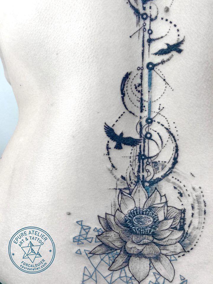 lotus flower » Épure atelier art et tattoo