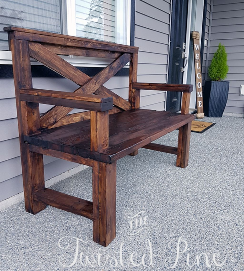 50 Gorgeous Diy Home Bench Project Ideas That You Love Used
