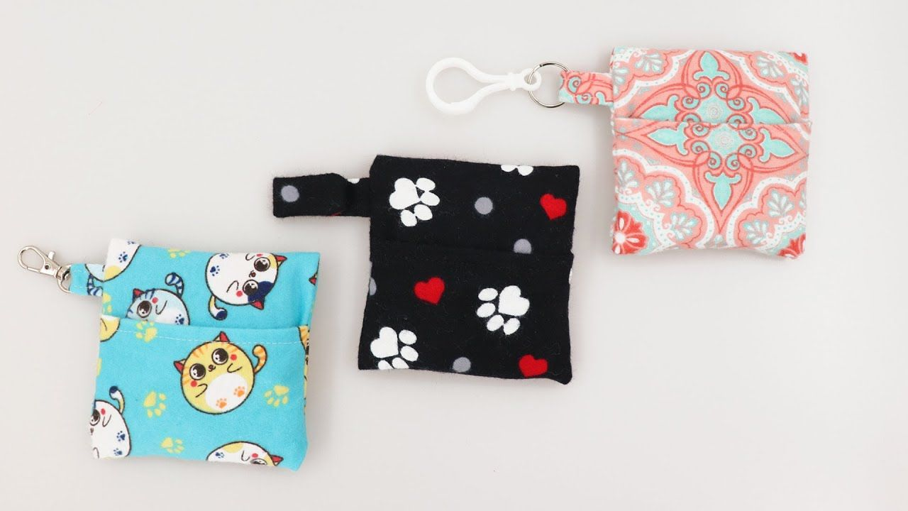 Photo of Face Mask Keychain Case Details with Options by learncreatesew