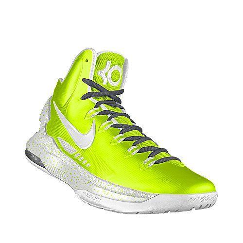 best website c2409 6f238 Nike Zoom KD V iD Kids  Basketball Shoe