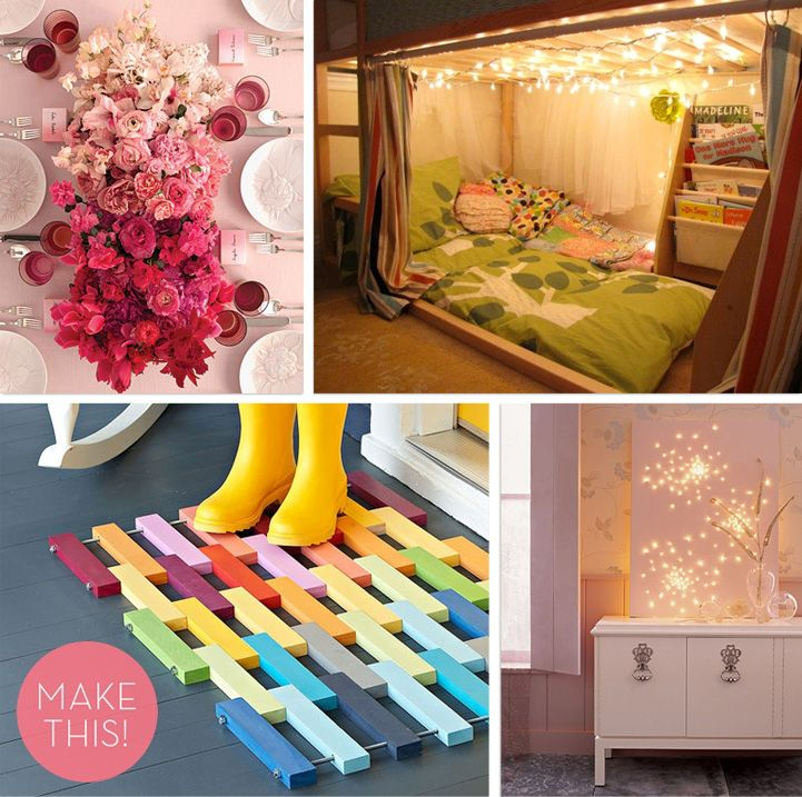 Do It Yourself Home Decorating Ideas: The Most Popular DIY Ideas From Pinterest