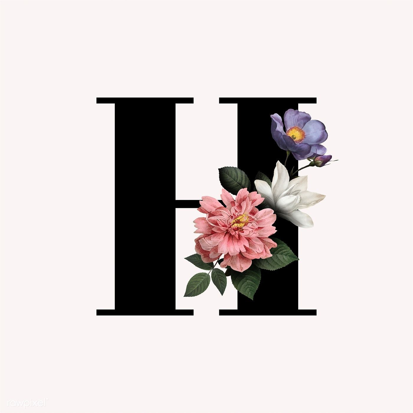 Download Premium Vector Of Classic And Elegant Floral Alphabet Font Letter Fonts Alphabet Lettering Alphabet Fonts Lettering Fonts