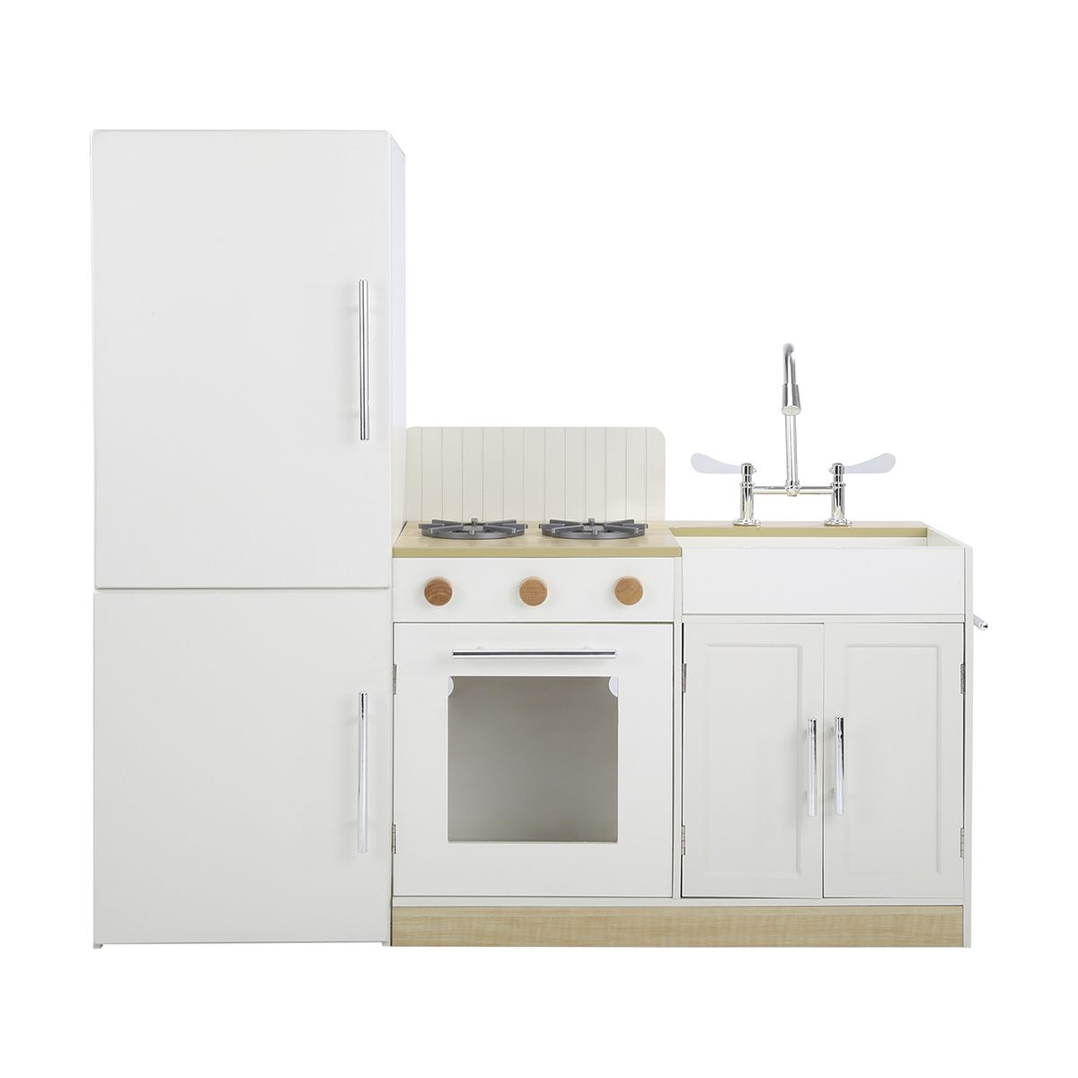 Deluxe Wooden Kitchen Playset | KmartNZ