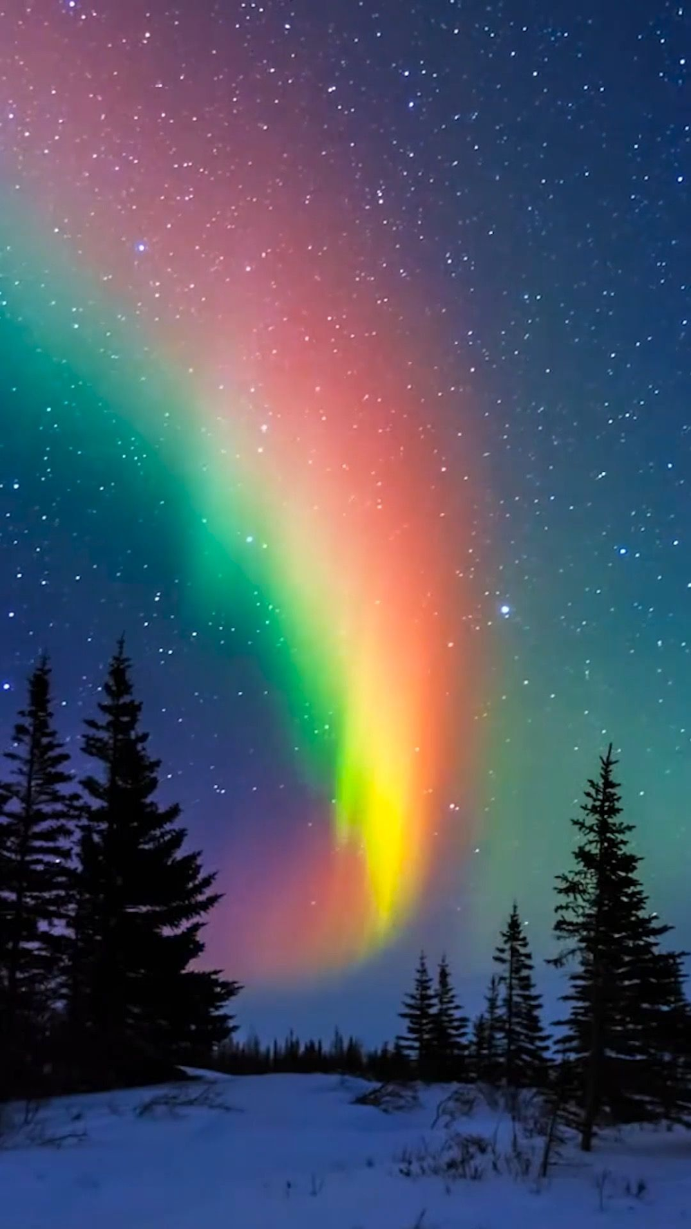 Past Beauty Of Men The Northern Lights Rainbow Photography Nature Rainbow Photography Beautiful Nature Wallpaper